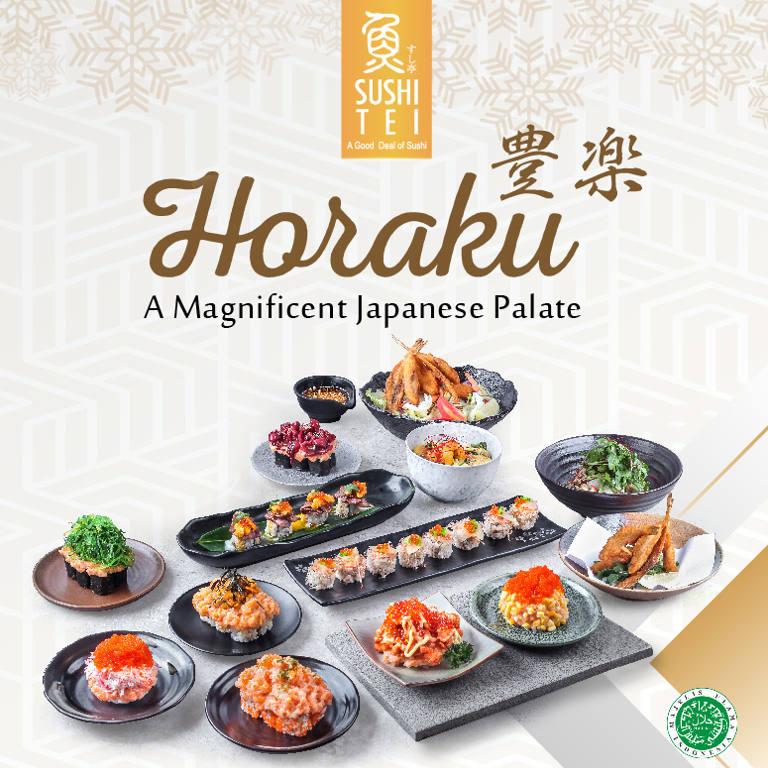 Enjoy New Menu HORAKU