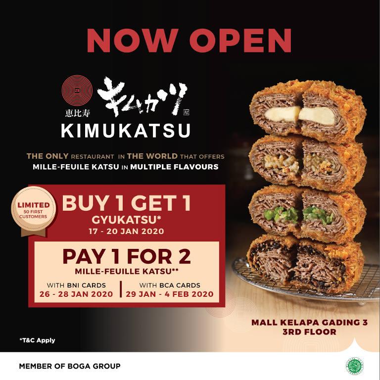 Buy 1 Get 1 for Gyukatsu