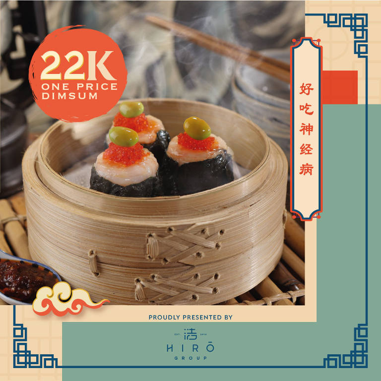 One Price Dimsum Go Only 22K!
