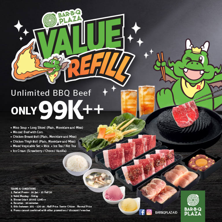 Value Refill (All You Can Eat)