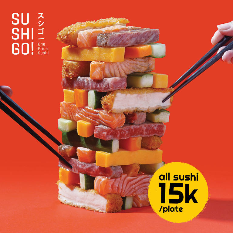 All Sushi 15K / Plate