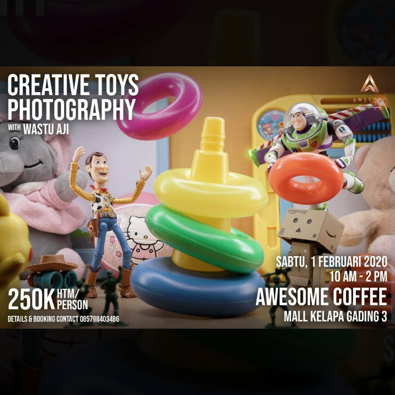 Creative Toys Photography