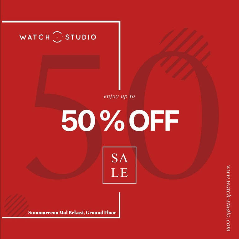 SALE up to 50%!