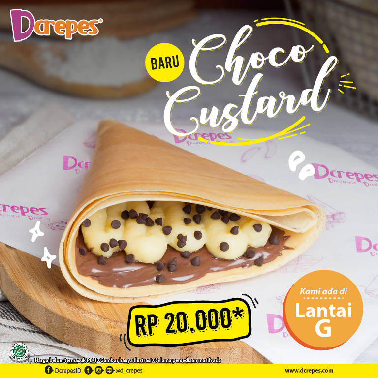 Sweet Crepes CHOCO CUSTARD