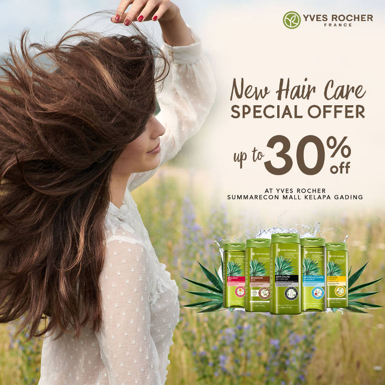 Get 30% Off for All Hair Care