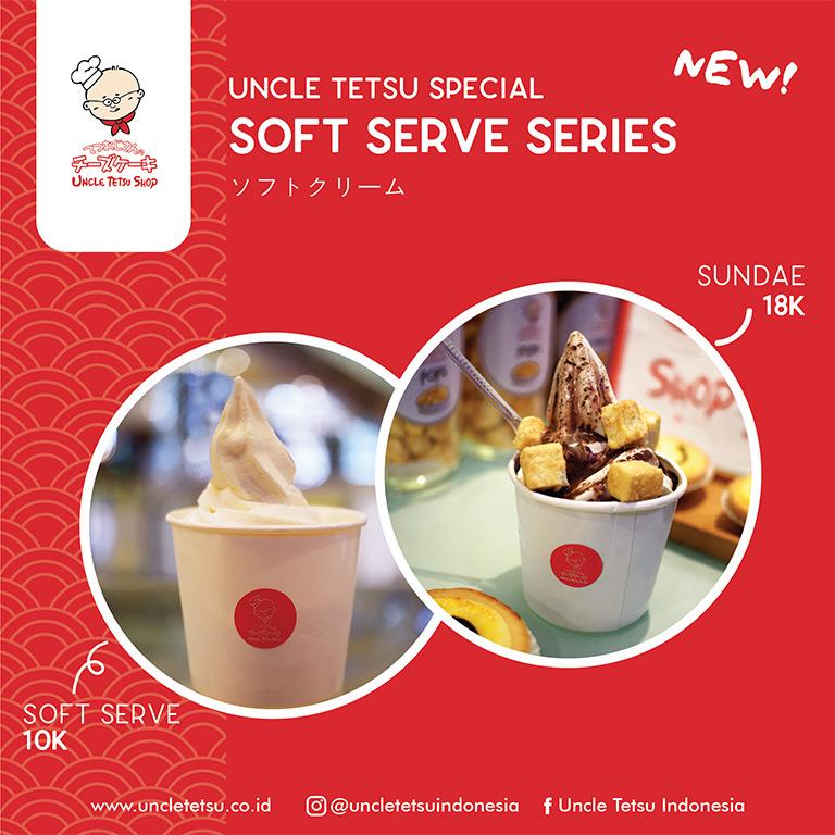New!! Soft Serve Series