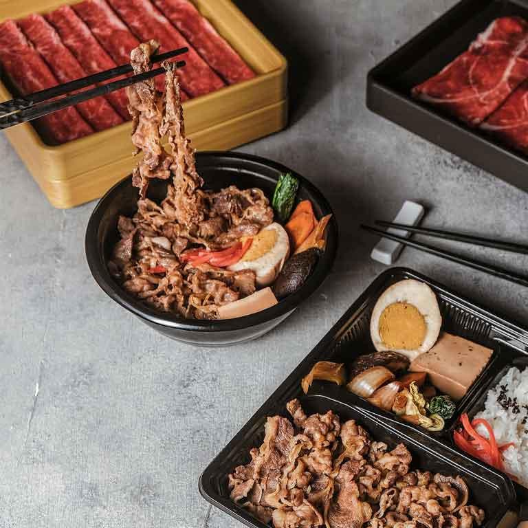 Thumb MOMO Paradise Sukiyaki Beef Bowl & Bento