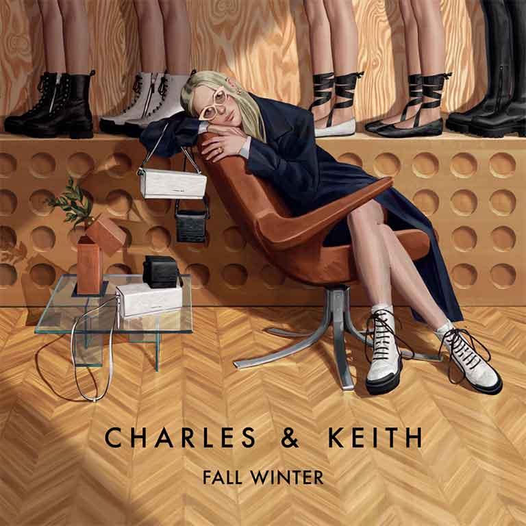 Thumb Charles & Keith Fall Winter 2020