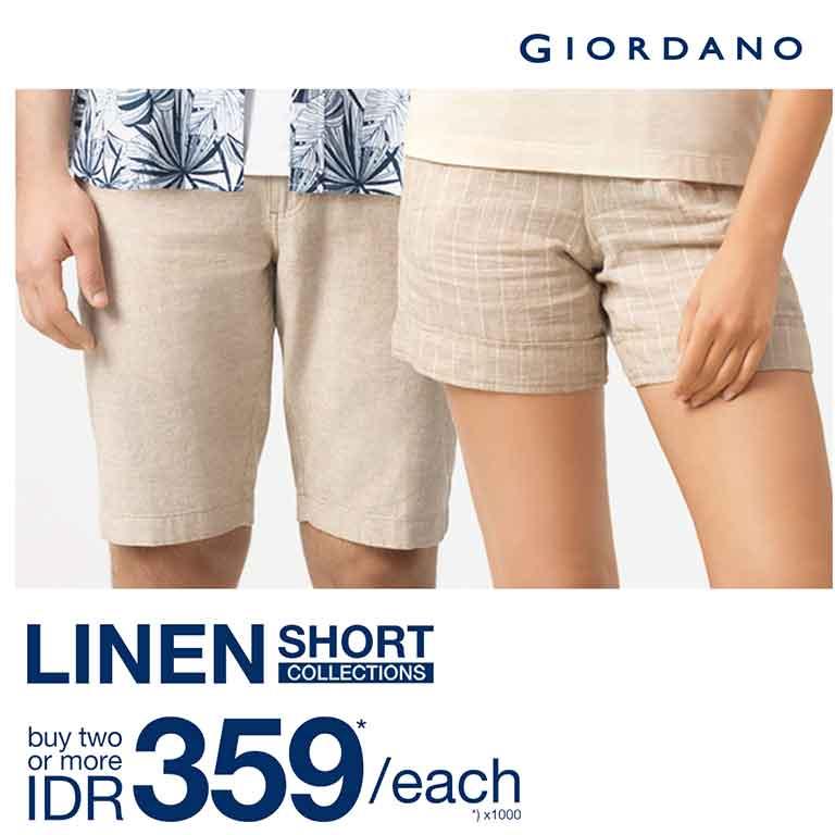 Linen short colections