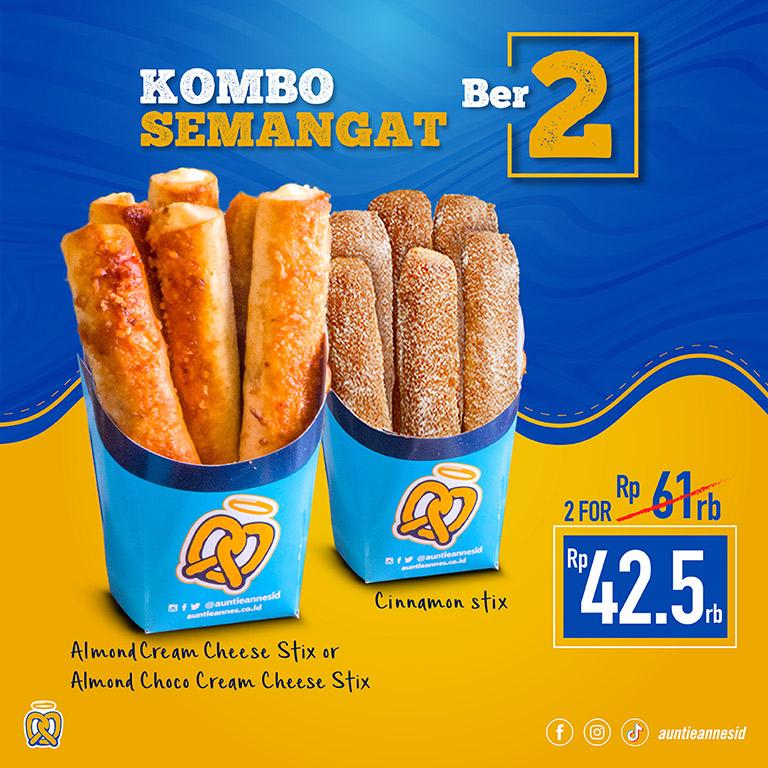 Kombo Semangat Ber-2 & Ber-4!