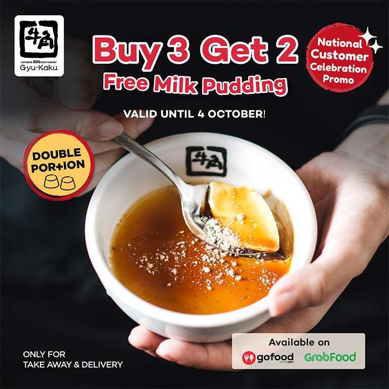 Buy 3 Get 5 Pudding