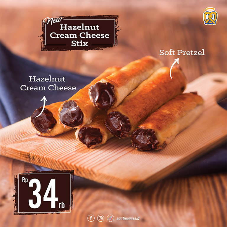 Hazelnut Cream Cheese Stix!