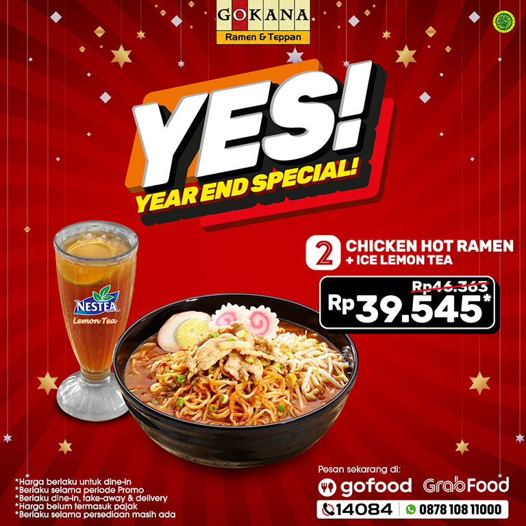 Thumb Gokana Ramen & Teppan Year End Sale!