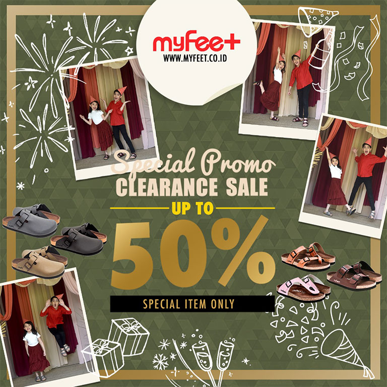 My Feet Special Clearance Sale