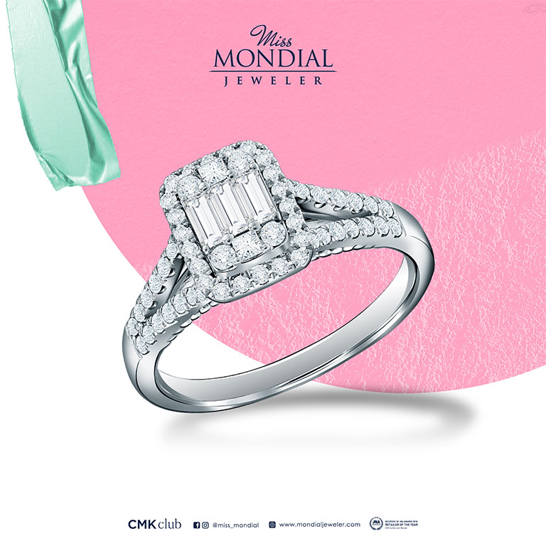 Miss Mondial Diamond Lady Ring