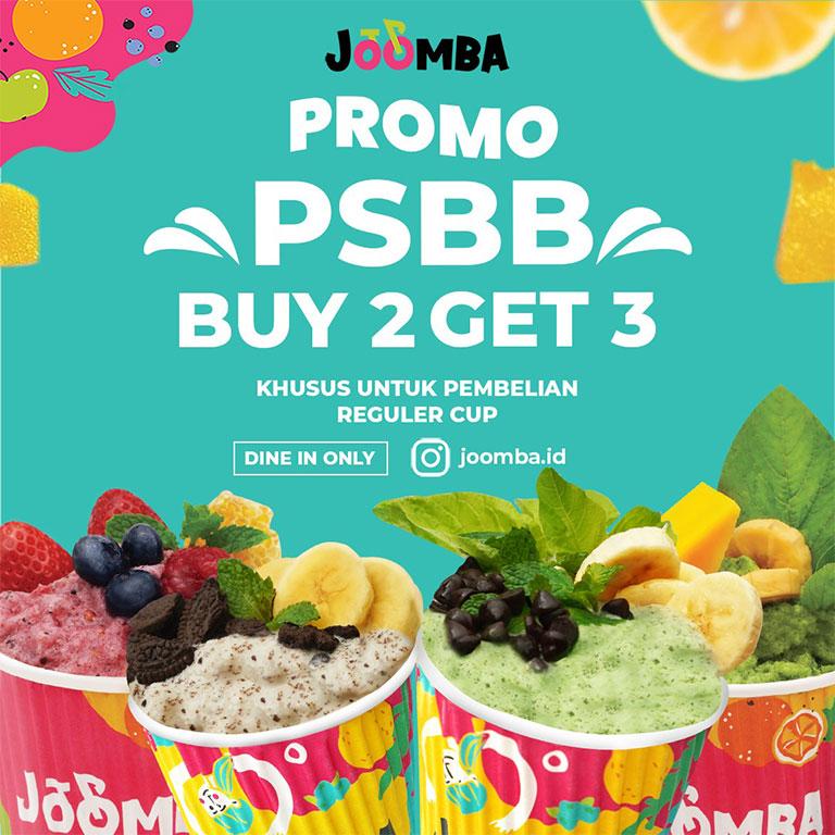 JOOMBA Buy 2 Get 3