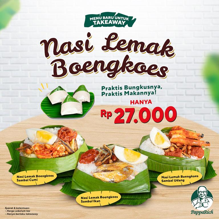 PappaRich Nasi Lemak Boengkoes!
