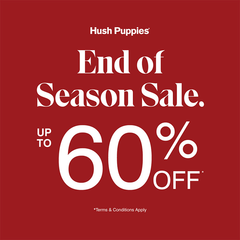 Hush Puppies End Of Season Sale