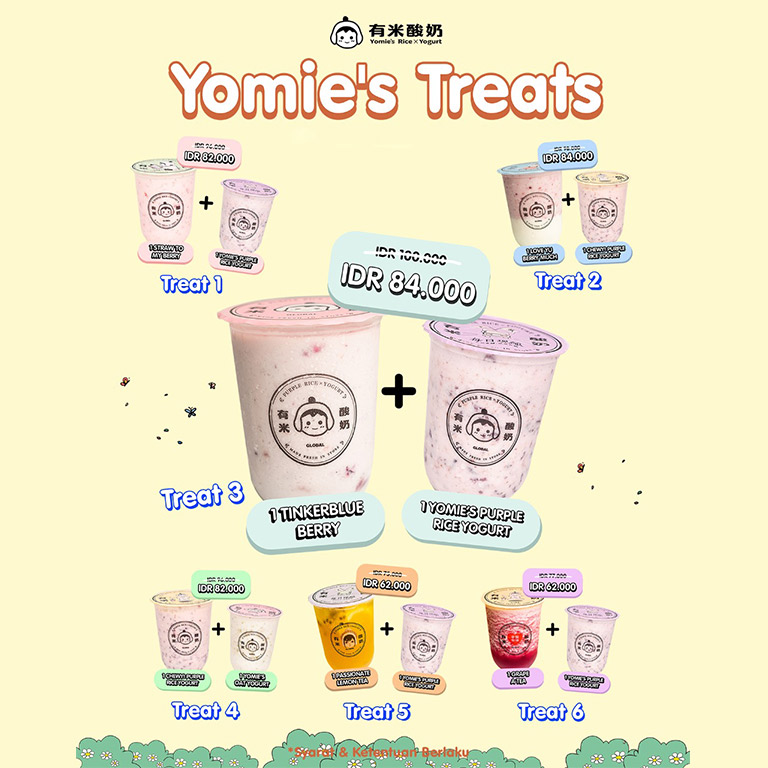 Thumb Yomie`s Rice x Yogurt Enjoy Special Treats