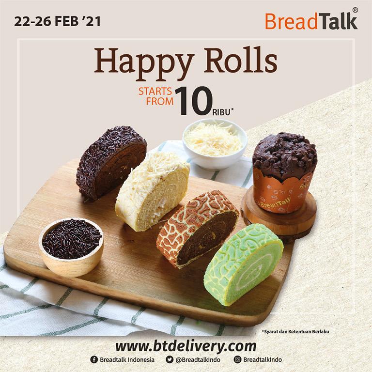 Thumb Breadtalk HAPPY ROLLS !!