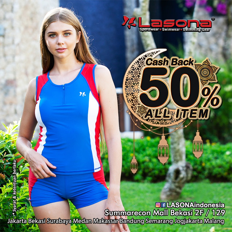 Lasona Cashback 50% ALL ITEM !!