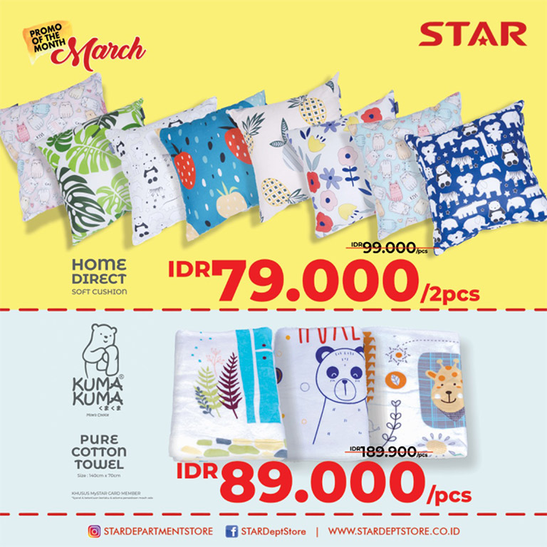 STAR Departement Store Promo Of The Month