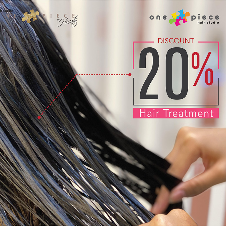 One Piece Hair Studio Enjoy 20% discount