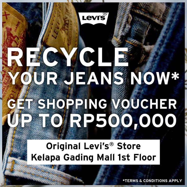 Levi's Recycle Your Jeans Now