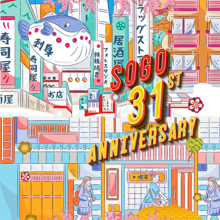 Sogo Department Store 31st Anniversary!