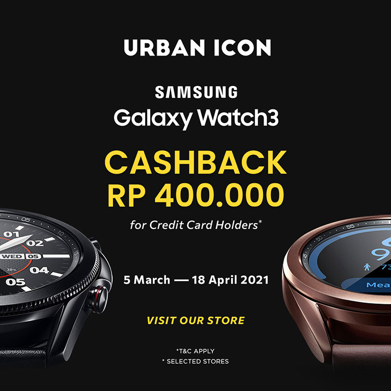 Urban Icon Get Cashback Samsung Galaxy Watch3