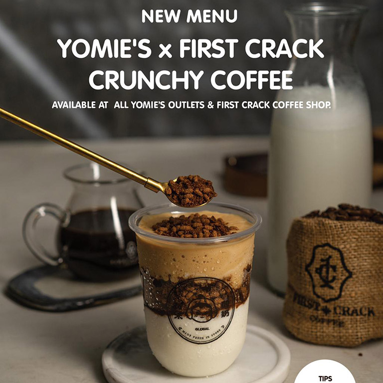 Thumb Yomie`s Rice x Yogurt First Crack Crunchy Coffee