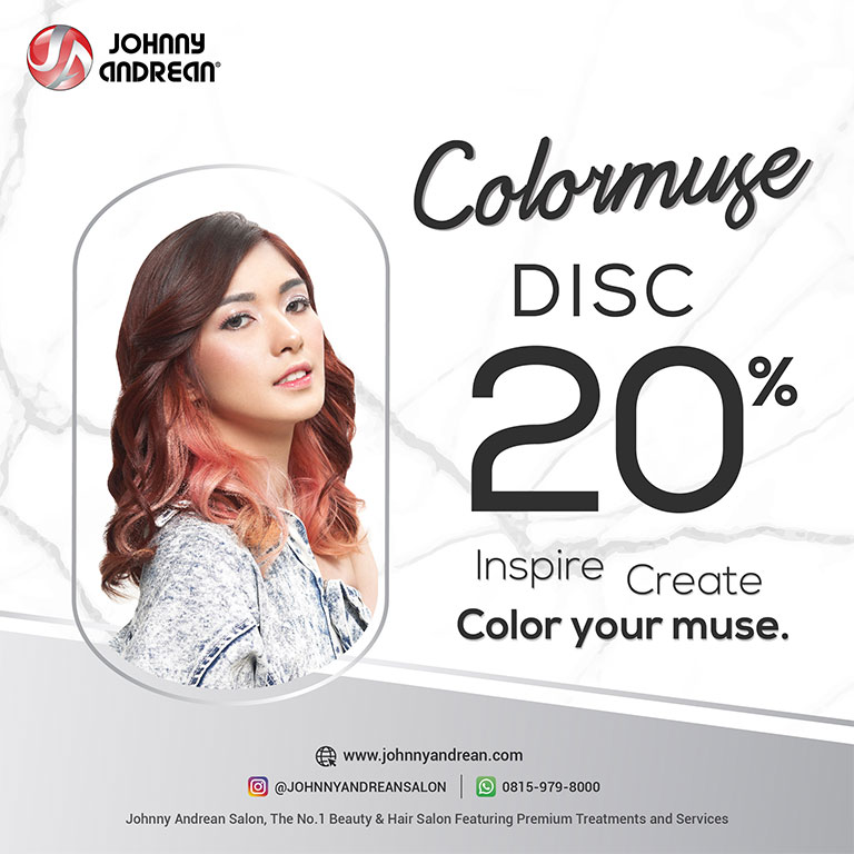 Johnny Andrean Salon Get Discount 20% Colormuse