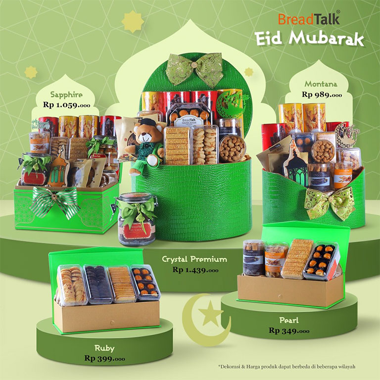 Bread Talk Eid Mubbarak Hampers
