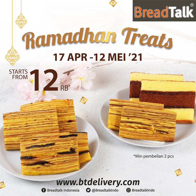 Breadtalk Ramadhan Treats