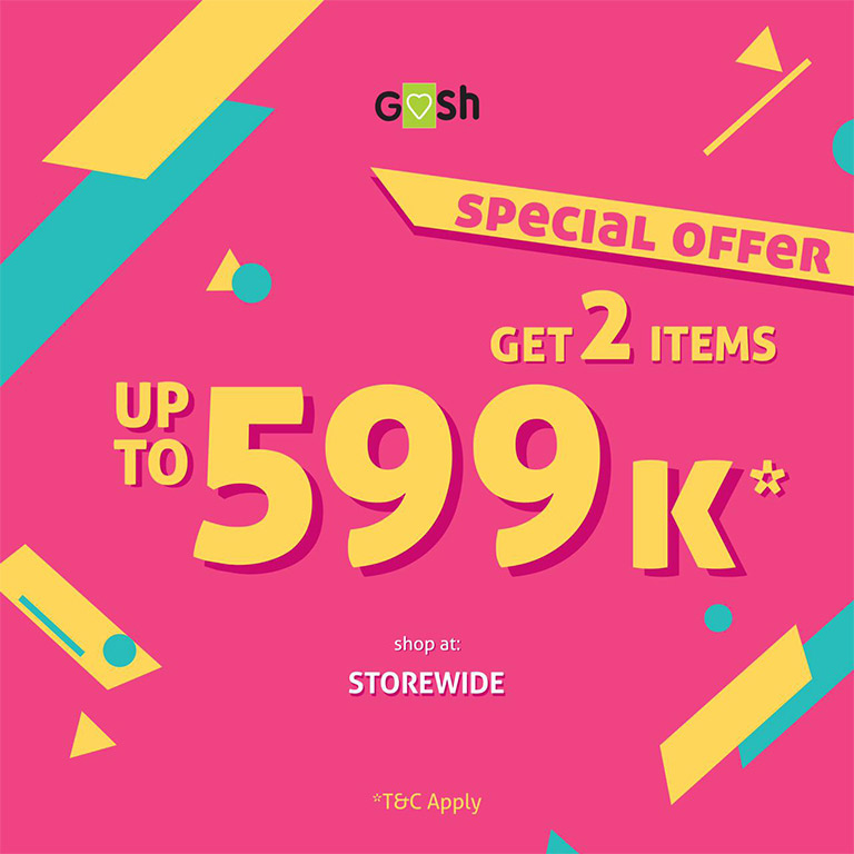 Gosh Shoes Special Offer