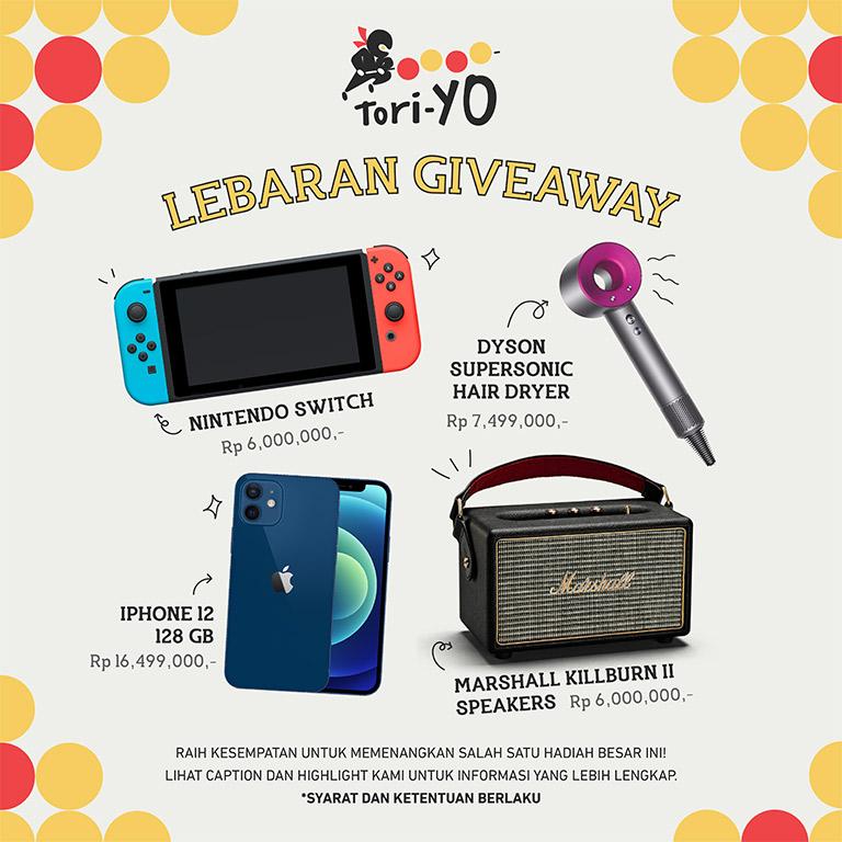 Tori-Yo Lebaran Giveaway!