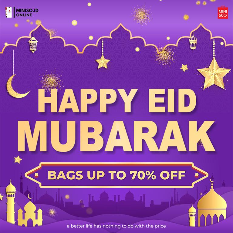 MINISO Happy Ied Mubarak