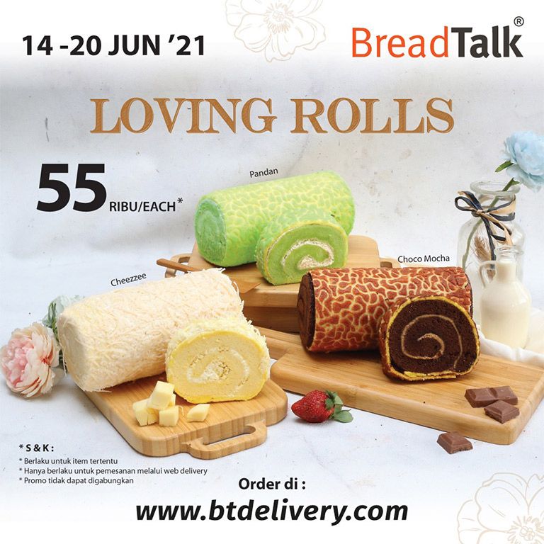 Breadtalk Spesial Breadtalk Roll Cakes