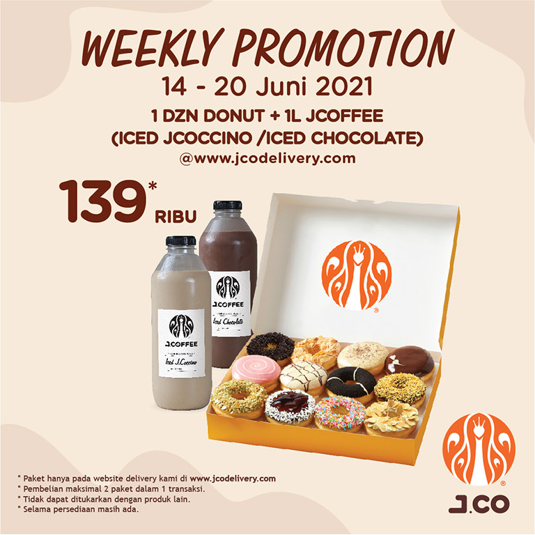 J.CO Donuts & Coffee Weekly Promotions