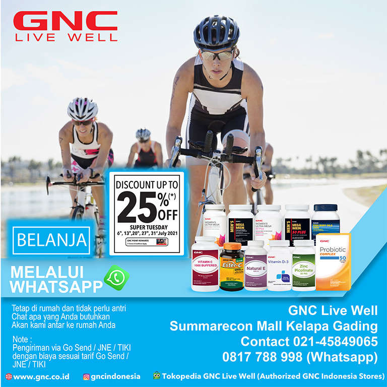 Thumb GNC Live Well Get Discount Up To 25%