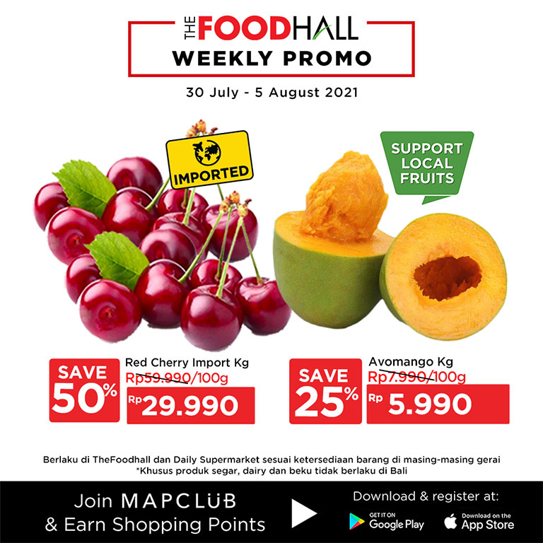 The Foodhall Weekly Promo 30 Jul - 5 Agust 2021