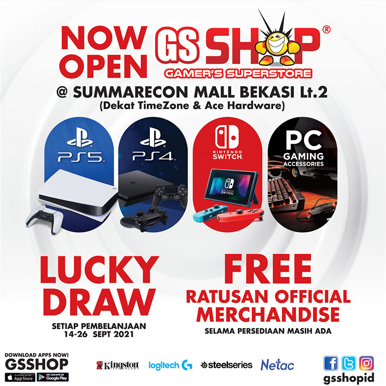 GS Shop Opening Promo!