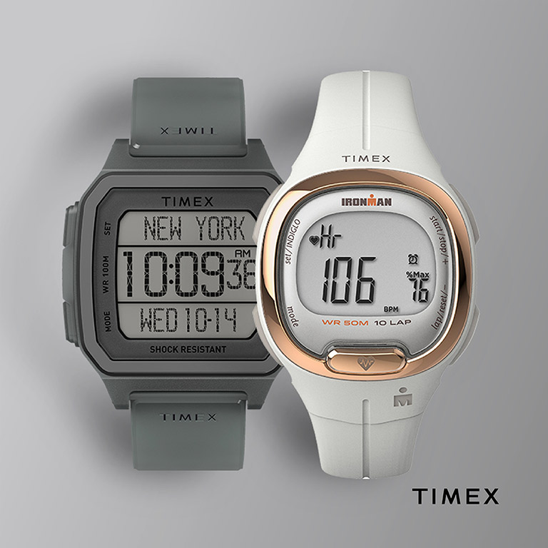 THE WATCH CO. Timex latest designs