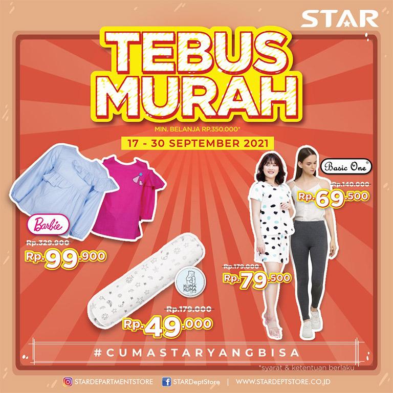 STAR Departement Store Promo Tebus Murah