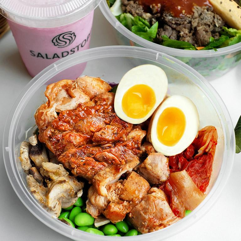 Salad Stop Nam-Do Chikin salad!