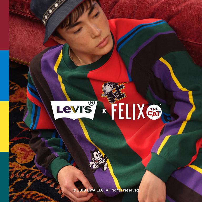 Levi's Levi`s x Felix the Cat collaboration