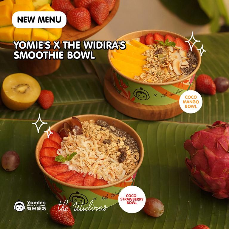 Yomie`s Rice x Yogurt New Menu