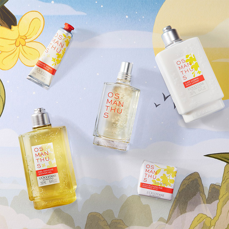 L`Occitane NEW JOURNEY WITH OSMANTHUS