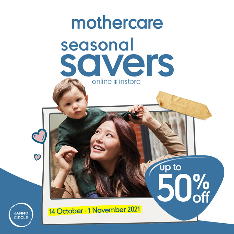 Mothercare SAVE UP TO 50% OFF