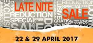 STAR Late Nite Sale!